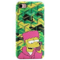 Remax Fashion Goyar Case For iphone 6 Plus 7 7 Plus Cartoon Storm Trooper Monopoly Lafayette Snake Tiger Leather Phone Cover Features: LeatherCompatible iP Goyard Iphone Case, Iphone Cases, Iphone 11, Bart Simpson, Simpsons Cartoon, Coque Iphone 6, Iphone Models, Phone Cover, 6s Plus