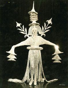 The Great Ziegfeld, 1936, costume by Adrian