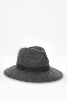 c2d1f0eab7f French Connection Lisa Wool Fedora Hat - Lyst Cool Hats
