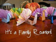 how to fold origami turkeys