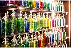 WOW!  So cool and colorful. Amazing Wall of Seltzers, Set of 48 on OneKingsLane.com