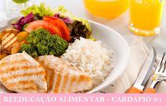 Reeducação Alimentar cardápio