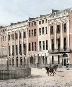 North side of Portman Square, London, 1812.