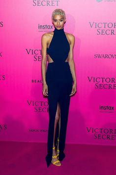 Victoria's Secret Fashion Show 2016 Red Carpet - Jourdana Phillips.
