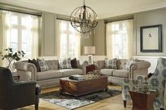 LR103 Sepia Sofa from the Theo Collection