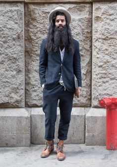 "New Street Style: Rameet, 33""NYC grit inspires me. I'm drawn to looks where.... Rameet, 33 ""NYC grit inspires me. I'm drawn to looks where flowy bohemian meets preppy old english."" Apr 20, 2017 ∙ SoHo"