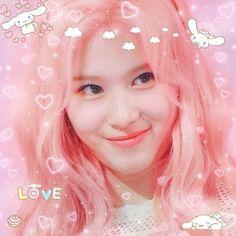 Nayeon, Kpop Aesthetic, Pink Aesthetic, Kpop Girl Groups, Kpop Girls, K Pop, Icons Twitter, Daehyun, Tzuyu And Sana