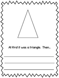 What Happens in First Grade: math Do with all shapes and let kids pick one.