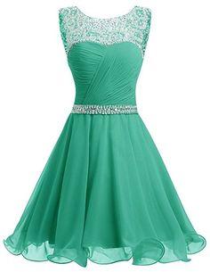Short Chiffon Crystal Homecoming Dress,Fashion Homecoming Dress,Sexy Party Dress,Custom Made Evening Dress