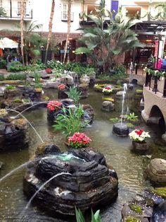 Cascades Atrium, Opryland Hotel, Nashville TN
