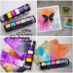 Watercolor panels with magicals