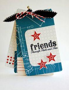 cute tag book