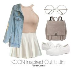 Inspired Outfit for KCON: Jin by btsoutfits on Polyvore featuring Proenza Schouler and Retrò