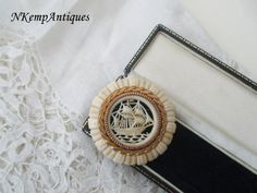 1930's celluloid brooch by Nkempantiques on Etsy