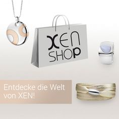 XEN, Edelstahlschmuck, Ringe, Anhänger, Collier, Halskette, Ohrstecker, Ohrhänger, Armband Place Cards, Place Card Holders, Shopping, Necklaces, Stud Earring, Neck Chain, Tag Watches, Ring, Armband