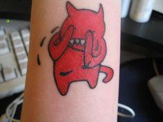 Amnesiac bear tat