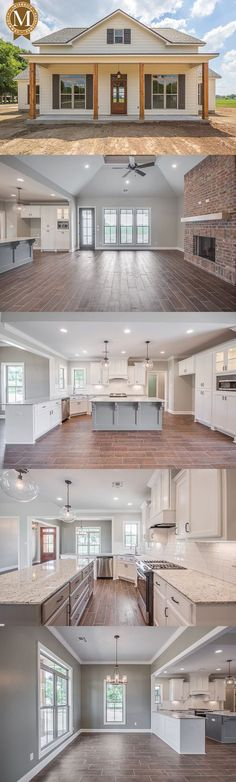 Literally my dream home. Sterling Farmhouse Living Sq Ft: 2206 Bedrooms: 3 or 4 Baths: 2 Lafayette Lake Charles Baton Rouge Louisiana Farmhouse Plans, Modern Farmhouse, Farmhouse Style, Farmhouse Layout, Farmhouse Decor, Farmhouse Bedrooms, Farmhouse Lighting, Farmhouse Interior, Farmhouse Design
