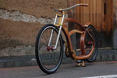 Gus Duncan // Big Woody in Japan // wooden cruiser bicycle #GeorgeTupak