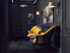Dark Interior - Галерея 3ddd.ru