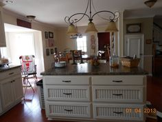 Grandmama's Stories Farmhouse Kitchen Make-over  Country Cottage Style