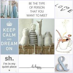 Moodboard  .... and just Breathe ....