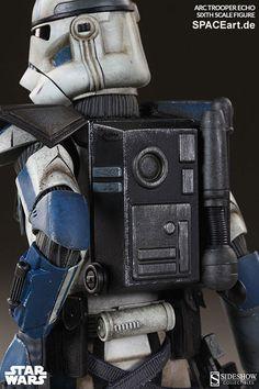 Star Wars: Arc Clone Trooper Echo Phase II Armor, Voll bewegliche Deluxe-Figur ... http://spaceart.de/produkte/sw017.php