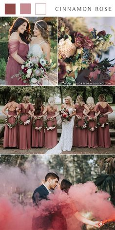 10 Trendy & Romantic Cinnamon Rose Bridesmaid Dresses and .- 10 Trendy & Romantic Cinnamon Rose Brautjungfernkleider und Hochzeitsideen, 10 Trendy & Romantic Cinnamon Rose bridesmaid dresses and wedding ideas, dresses - Fall Bridesmaid Dresses, Wedding Dresses, Dresses Dresses, Fall Dresses, Fall Wedding Bridesmaids, Trendy Dresses, Dusty Rose Dress, Dusty Rose Wedding, Fall Wedding Colors