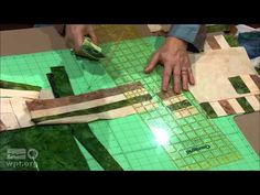 Fearless Quilt Finishing - Borders and binding. Nancy addresses basic border options with ideas for cutting, mitering, working with odd angles, flanges, and cornerstones. She includes pieced border techniq...