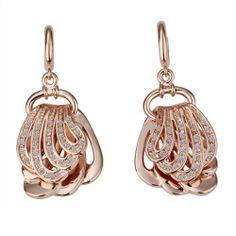 Lekani 18K Rose Gold SWAROVSKI Crystal Drop Earrings Lekani. $11.32. Fashionable. Weight16g. MetalStamp:18K. Gold-filled. Noble