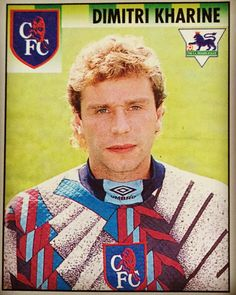 Dimitri Kharine we salute you. One of the best stickers in the Merlin 1994 / 95 sticker album. The state of that hair and goalie top. Read the article on blog.footballshirtcollective.com #football #footballshirt #footballshirtcollective #soccer #soccershirt #chelsea #chelseafc #cfc #umbro #umbrofootball #vintagefootball #premierleague
