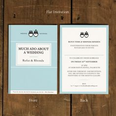 classic book folding wedding invitation ideal for book worms