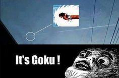 It's GOKU. Dragon Ball Z memes DBZ memes