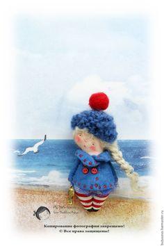 Купить Капитанская ДОЧКА. Вторая. Брошь. - синий, якорь, море, рыбка, рыбка золотая Softies, Puppets, Snoopy, Felt, Textiles, Dolls, Disney Princess, Disney Characters, Creative