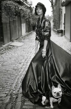 Sasha Pivovarova by Glen Luchford for Vogue Paris November 2014 5
