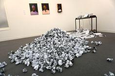 """""""All My Failures Turning into a Hill"""" Ruth Proctor at Hollybush Gardens Gallery #FriezeLondon2015 #Frieze #FriezeArtFair #London #FeriaArte #ArtFair #ArteContemporáneo #ContemporariArt #Art #Arte #Arterecord 2015 https://twitter.com/arterecord"""