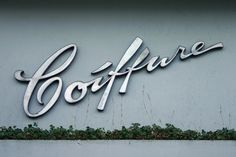 Coiffure signage, photo by Florian Hardwig via Flickr.