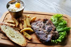 Ceafa de porc Hanul Drumetilor Steak, Pork, Steaks