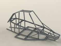 Buggy Piranha 2 frame - SOLIDWORKS, STL, Other - 3D CAD model - GrabCAD