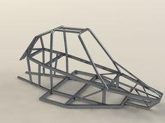 Buggy Piranha 2 frame - SOLIDWORKS, STL, Other - 3D CAD model - GrabCAD