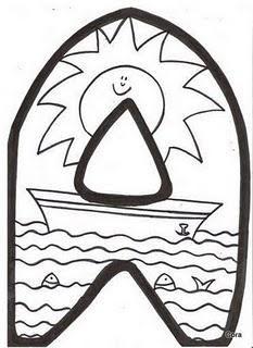 Dibujos para colorear del verano - Paperblog Letter Art, Letters, Under The Ocean, Diy Garden Decor, Classroom, Google, Party, Summer, Kid Art