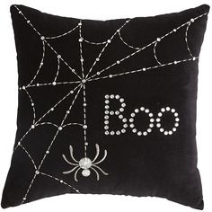 Pier 1: Halloween Black Mini Boo Pillow #EastwoodTowneCenter
