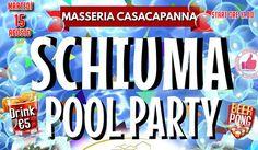 Ferragosto SCHIUMA POOL PARTY A Masseria Casacapanna http://affariok.blogspot.it/