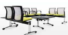 Beam Seating es una flexible y elegante opción para recibir a tus mejores invitados! #LiderazgoMober