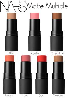 NARS MatteMultiple. I have it in Anguila (middle top row). Blends well and looks great! Nice addition to the NARS Multiple line!