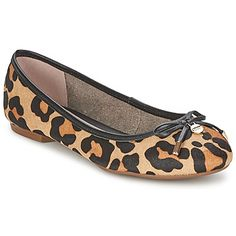 Super trendy leopard print flat shoes from Dune s new collection SS15  shoes   flatshoes   22510642a3