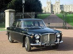 Rover P5 - the choice of transport for middle England's respected professionals in the 1960's. This was a time when bank managers were respected...