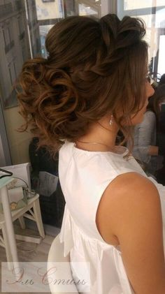 Find out all the cute wedding hairstyles we gathered. You will have your future husband falling in love all over again when he sees you walk down the aisle… For more ideas go to wedwithbliss.com #weddinghairstyles