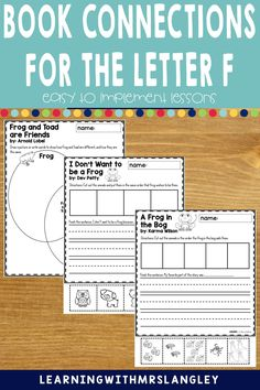 Do your pre-school or kindergarten students struggle when learning the LETTER F? Are you looking for proven activities that will actually help students master the alphabet? I can help! Immerse your students in a letter a day or week to quickly gain fluency in the alphabet. These lessons focus on recognizing the letter F and the initial sound and include detailed lesson plans, rhyming activities, math and science activities, art activities, and more! F Alphabet, Learning The Alphabet, Rhyming Activities, Science Activities, Initial Sounds, Letter Identification, Letter To Parents, Teaching Letters, Letter F