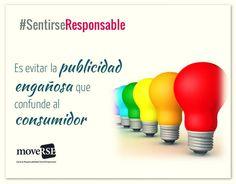 #SentirseResponsable es evitar la publicidad engañosa que confunde al consumidor