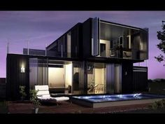 Inspiring Shipping Container Home DesignsHi, Need you impressions for you new dreamhouse:: financing, floor plans, exterior cladding, roof, Windows, electrics, heating, doors, Hall, living / dining room, kitchen, laundry, bedroom, bathroom, workroom, wall - flooring, gardens and more. NEW-HOUSESOLUTIONS created beautyful pages for you.